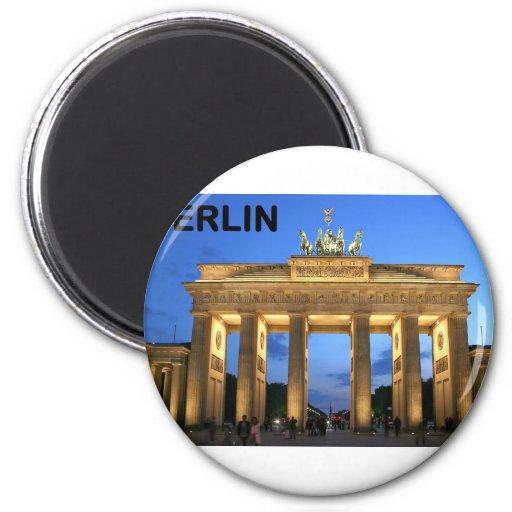 Germany Berlin Brandenburger Tor abends Refrigerator Magnet