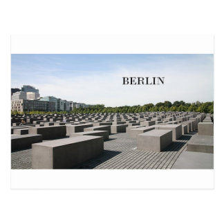 Germany Berlin Holocaust (St.K) Postcard