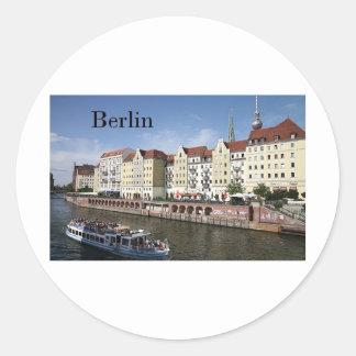Germany Berlin (St.K) Classic Round Sticker