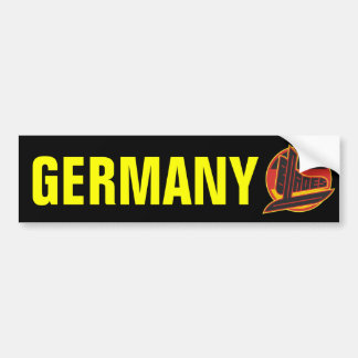 Germany Blades Car Bumper Sticker