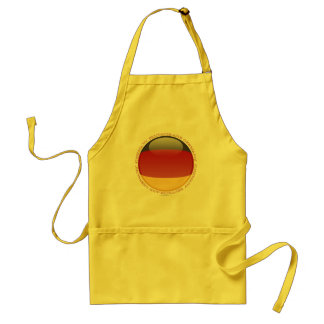 Germany Bubble Flag Adult Apron
