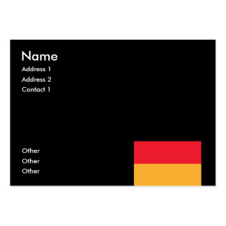GERMANY BUSINESS CARD TEMPLATE