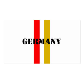 Germany Business Card