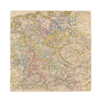 Germany by Rudolf von Habsburg Wood Coaster
