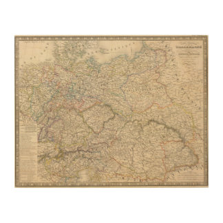 Germany, Central Europe Wood Canvases