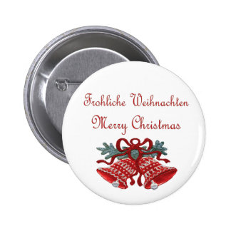 Germany Christmas Button