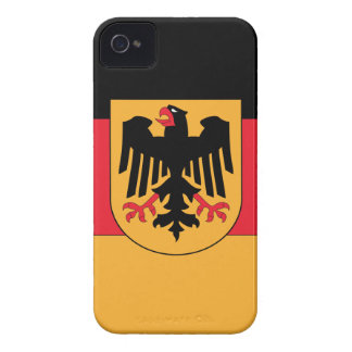 Germany Coat of Arms iPhone 4 Case-Mate Cases