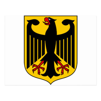 Germany Coat of arms DE Postcard