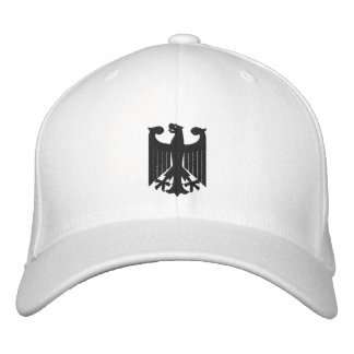 """Germany """"Coat of Arms"""" Embroidered Cap"""
