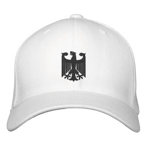 """Germany """"Coat of Arms"""" Embroidered Cap Baseball Cap"""