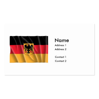 GERMANY COAT OF ARMS FLAG PACK OF STANDARD BUSINESS CARDS
