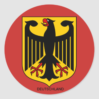 Germany coat of arms of large stickers