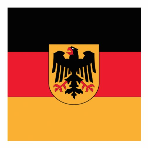Germany Coat of Arms Photo Cut Out