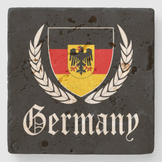 Germany Crest Stone Coaster