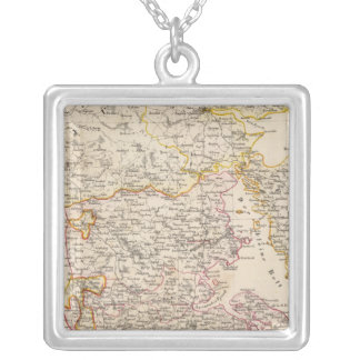 Germany, Denmark Silver Plated Necklace
