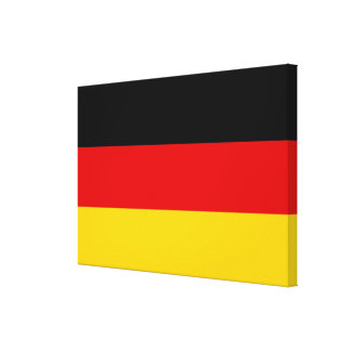 Germany Deutschland flag Canvas Print