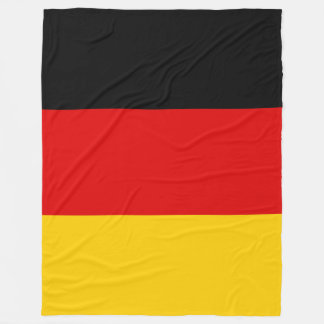 Germany Deutschland flag Fleece Blanket