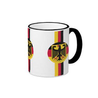 Germany Deutschland Fußball Soccer  Ringer Mug