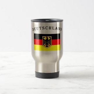 Germany / Deutschland Stainless Steel Travel Mug
