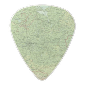Germany eastern section acetal guitar pick
