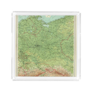 Germany eastern section acrylic tray