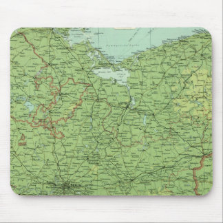 Germany eastern section mouse pad