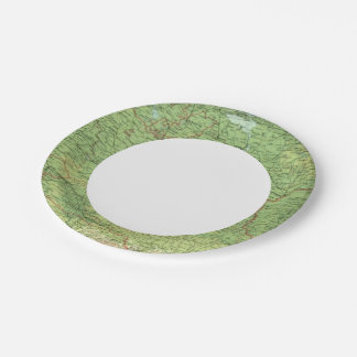 Germany eastern section paper plate