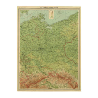 Germany eastern section wood canvases