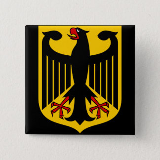 germany emblem 15 cm square badge