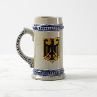 germany emblem beer stein