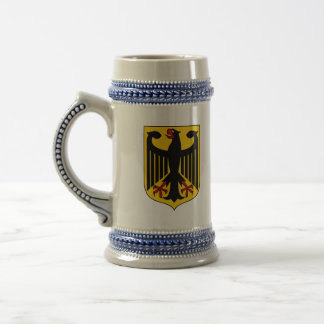 germany emblem 18 oz beer stein