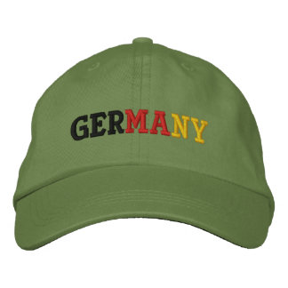 Germany Embroidered Hat