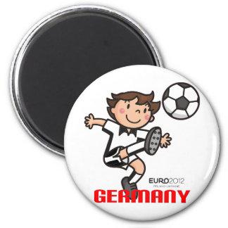 Germany - Euro 2012 6 Cm Round Magnet