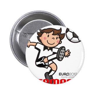 Germany - Euro 2012 Pinback Button