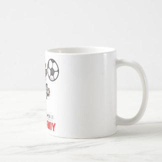 Germany - Euro 2012 Basic White Mug