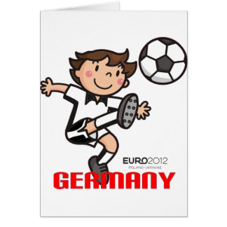 Germany - Euro 2012 Greeting Card