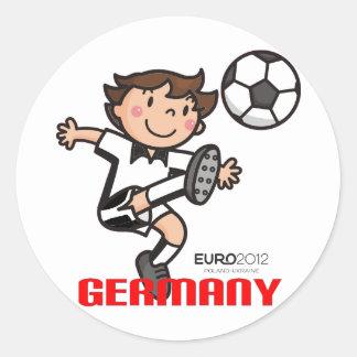 Germany - Euro 2012 Round Sticker