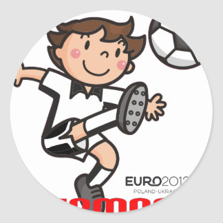Germany - Euro 2012 Round Stickers