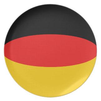 Germany Fisheye Flag Plate
