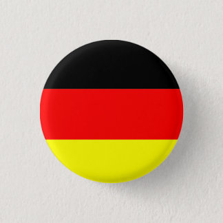 Germany flag 3 cm round badge