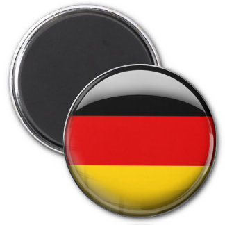 Germany Flag 6 Cm Round Magnet
