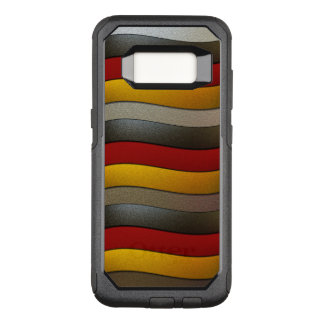 Germany Flag Colors-Chrome by Shirley Taylor OtterBox Commuter Samsung Galaxy S8 Case