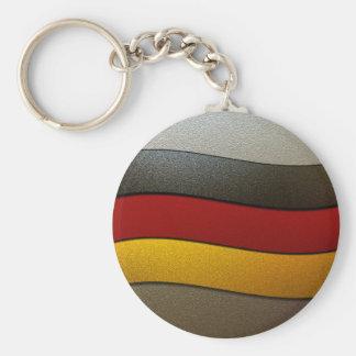 Germany Flag Colors-Chrome Key Chains