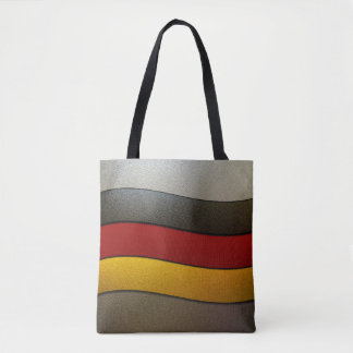 Germany Flag Colors-Chrome Tote Bag