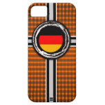 Germany Flag Emboss Orange iPhone 5 Case-Mate Case