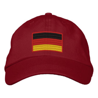 Germany Flag Embroidered Hat