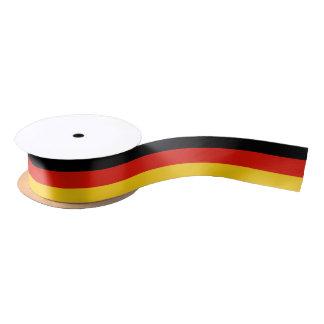 Germany flag gift ribbon for German party favors Satin Ribbon