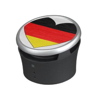Germany Flag Heart Bluetooth Speaker