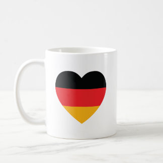 Germany Flag Heart Coffee Mug