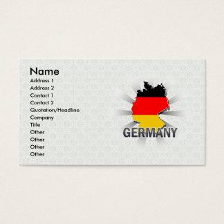 Germany Flag Map 2.0